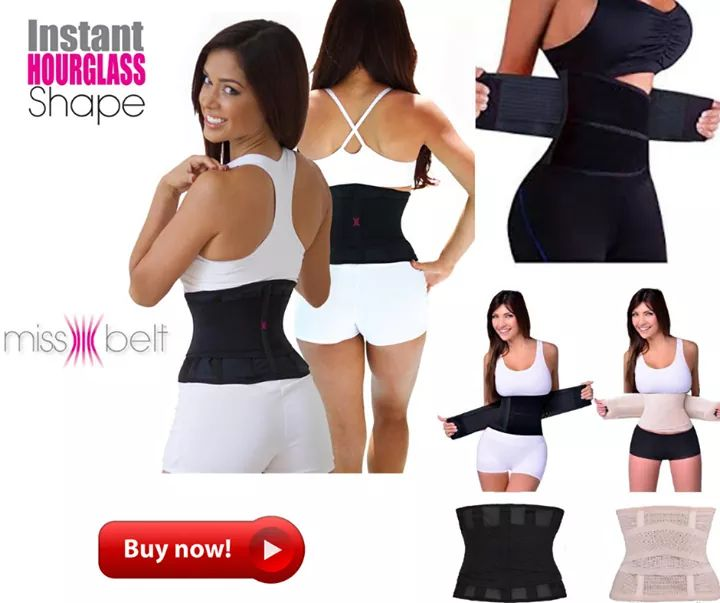 0265319c9e MISS BELT INSTANT HOURGLASS WAIST TRIMMER - Bevy Essentials